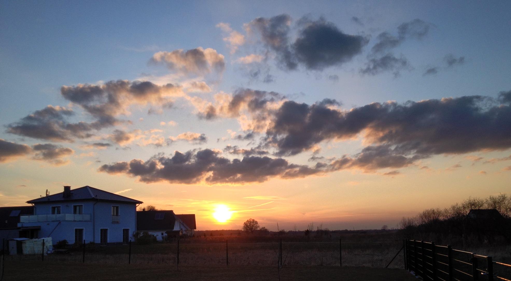 Sonnenuntergang LG